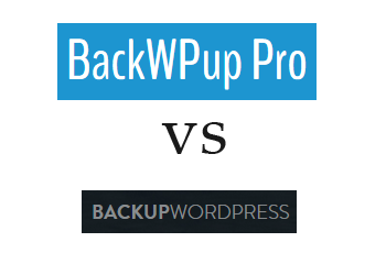 Comparing BackWPup vs BackUpWordPress