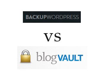 Comparing blogVault vs BackUpWordPress