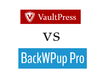 Comparing BackWPup vs VaultPress