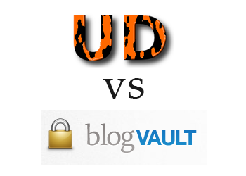 Comparing blogVault vs UpdraftPlus
