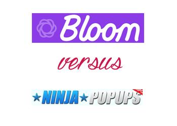 Comparing Bloom vs Ninja Popups