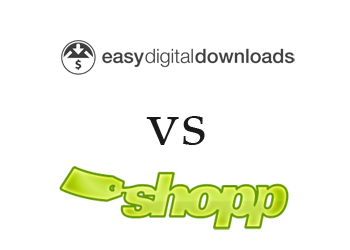 Comparing Easy Digital Downloads vs Shopp