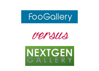 Comparing NextGen Gallery vs FooGallery