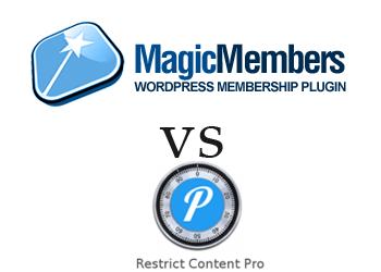 Comparing Magic Members vs Restrict Content Pro