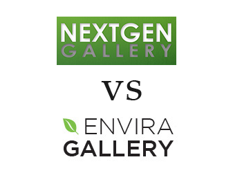 Comparing NextGen Gallery vs Envira Gallery
