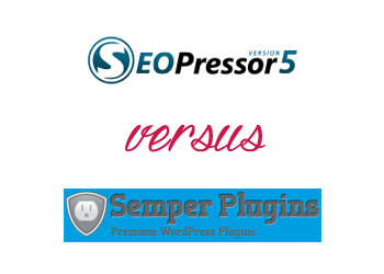 Comparing All in One SEO Pack vs SEOPressor