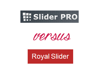 Comparing RoyalSlider vs Slider PRO