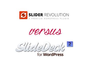 Comparing SlideDeck vs Slider Revolution