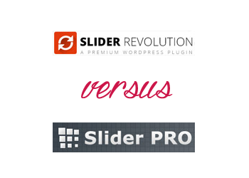 Comparing Slider Revolution vs Slider PRO