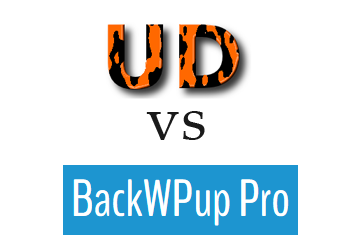 Comparing BackWPup vs UpdraftPlus