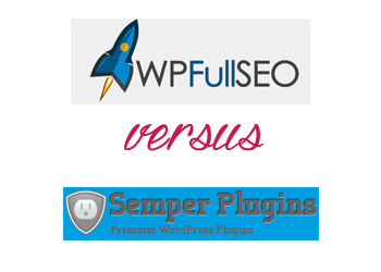 Comparing All in One SEO Pack vs WP Full SEO