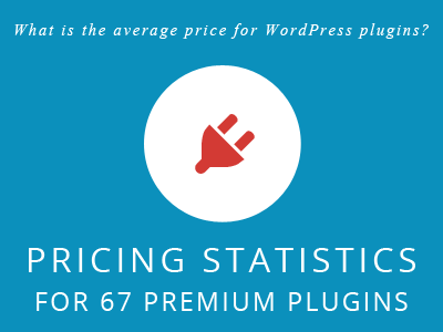 Pricing statistics for premium WordPress plugins